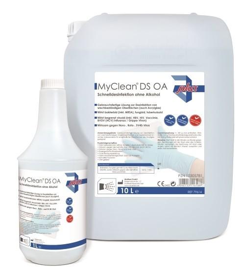MaiMed MyClean® DS OA Schnelldesinfektion ohne Alkohol