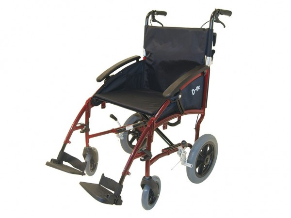 "Drive Transport-Rollstuhl D-Lite 12,5"""